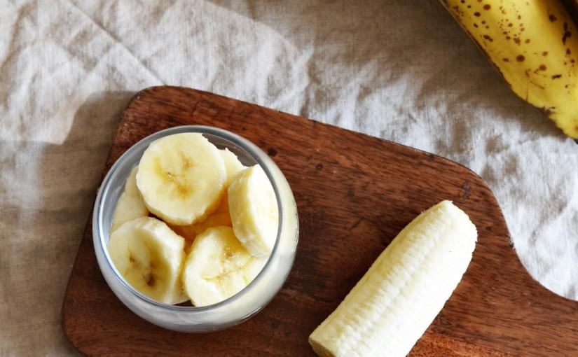 Masque maison pour cheveux à la banane