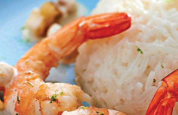 Crevettes à l'antillaise