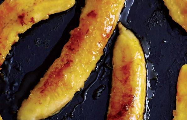 Bananes dorées