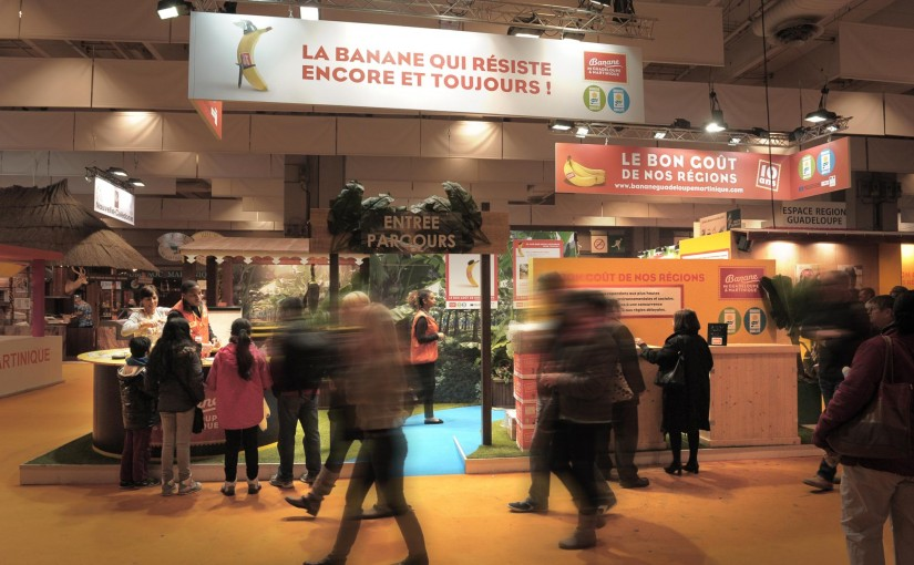 La Banane de Guadeloupe & Martinique récompensée au Salon de l'Agriculture !