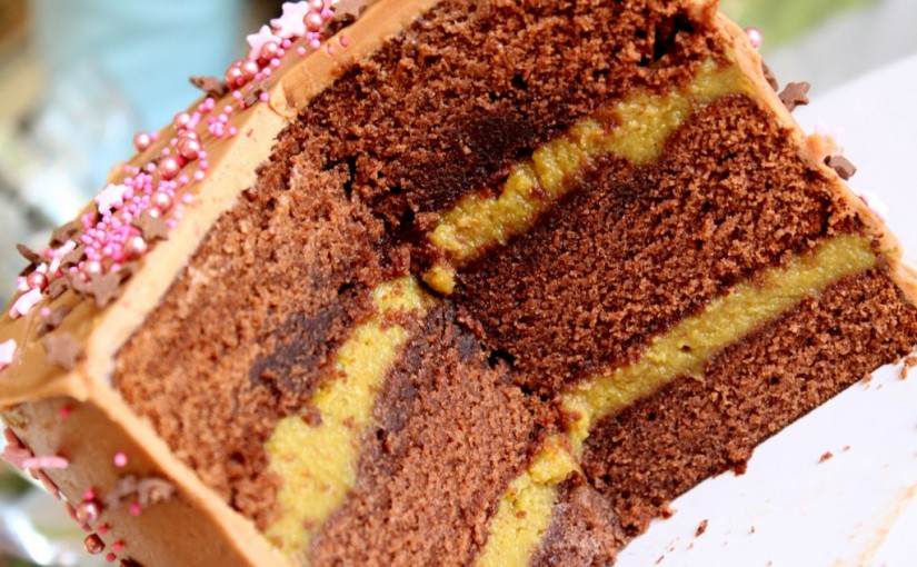 Le Layer Cake à la Banane
