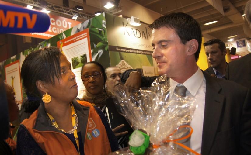 Les politiques sur notre stand au Salon de l'Agriculture 2014 !