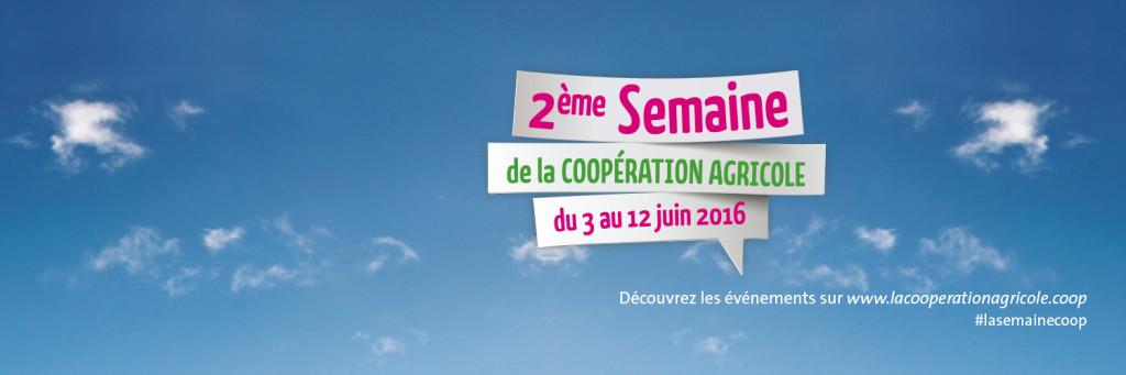 Bannière : 2ème semaine de la Coopération Agricole