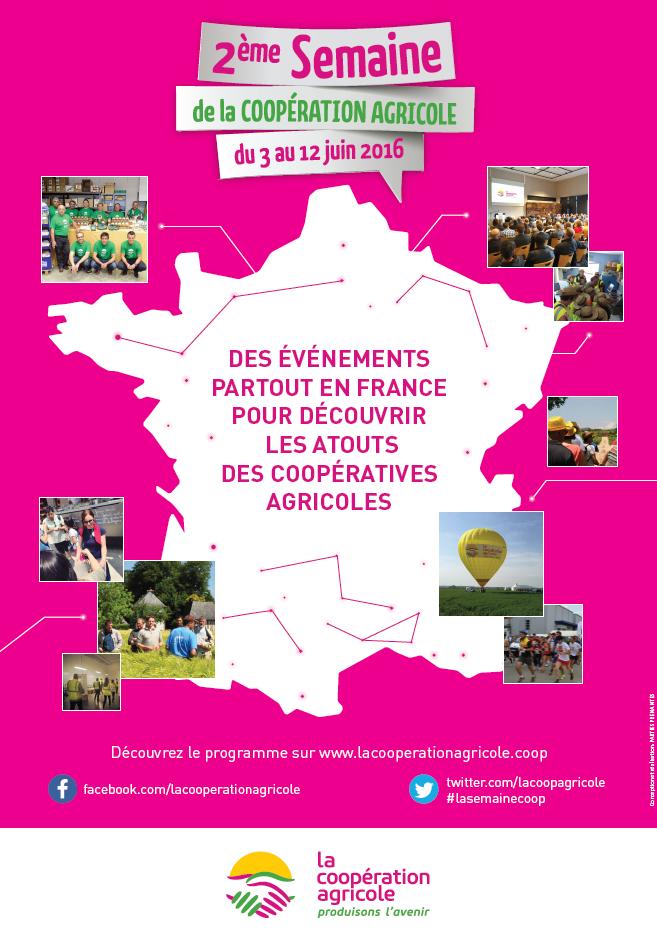 2ème semaine de la Coopération Agricole : des événements partout en France