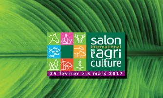 Rendez-vous au Salon international de l'Agriculture 2017 !