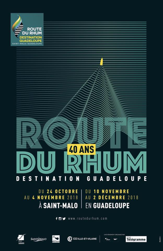 Affiche Route du Rhum 2018