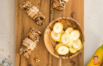 barres céréales banane - miniature